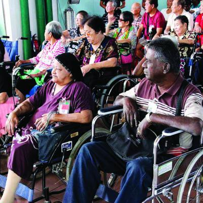 CNY Angpow Giving Session To Dialysis Patients