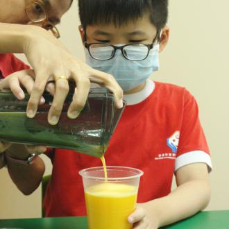 Sales of Fruit Juice by Special Needs Programme Students