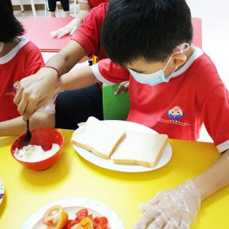 Sales of Sandwiches By Special Needs Programme Students