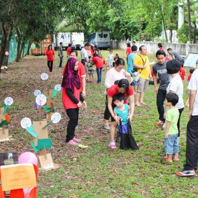 Paediatric Go Green Sport Day