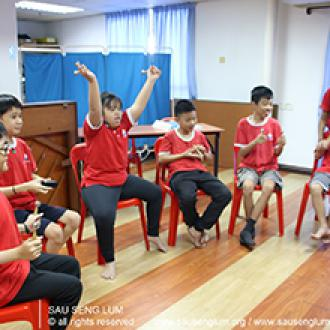 2019-12-04 Musical Presentation by the SSL Special Needs Programme Students